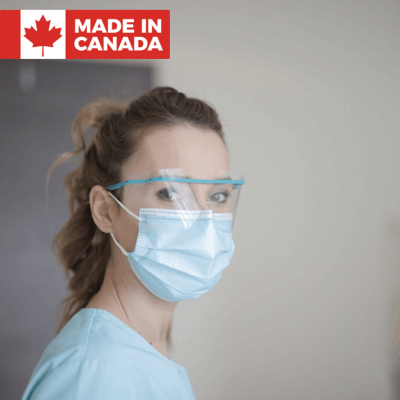 Canadian Made Medical Face Masks | ASTM Level 1, 2 and 3 medical face masks, medical face masks made in canada, Calgary company makes medical grade face masks from canadian materials, Medical Mask and non-medical mask, 3ply face mask, 3 layered face mask